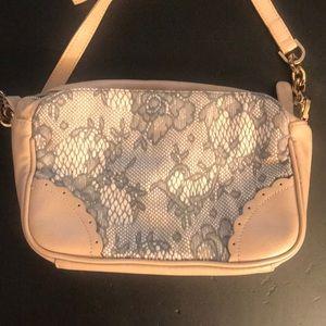 Handbags - Light pink faux leather crossbody